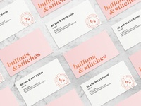 Buttons & Stitches Business Card