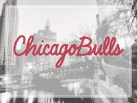 Chicago Bulls | Hand Lettering