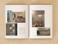 Interior design book.