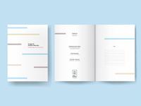 Book a5 design