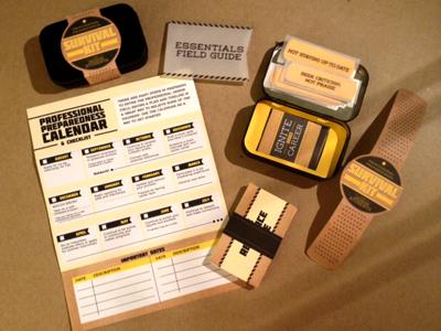 Dribbble survival kit