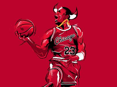 Air Jordan basketball michael jordan illustration sports design atlanta sports