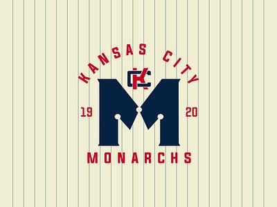 Kansas City Monarch baseball sports design logo design sports