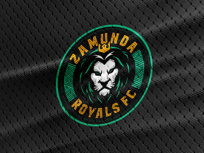 Zamunda Royals FC futbol soccer design illustration sports design logo sports