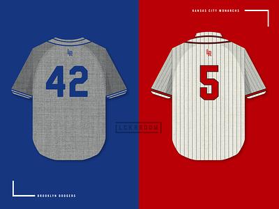 Jackie Robinson Day jersey vector baseball