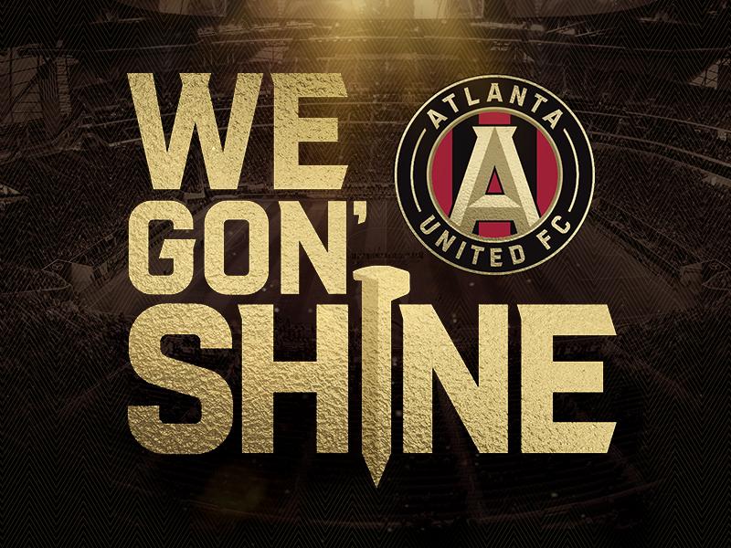 Atlanta United Playoffs 2018 mls soccer sports design design atlanta sports logo