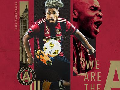 ATL UTD Exploration sports design atlanta united mls soccer atlanta