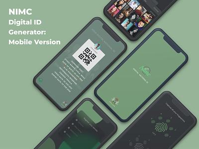 NIMC Digital ID Generator - Mobile Version pieday protopie playoff