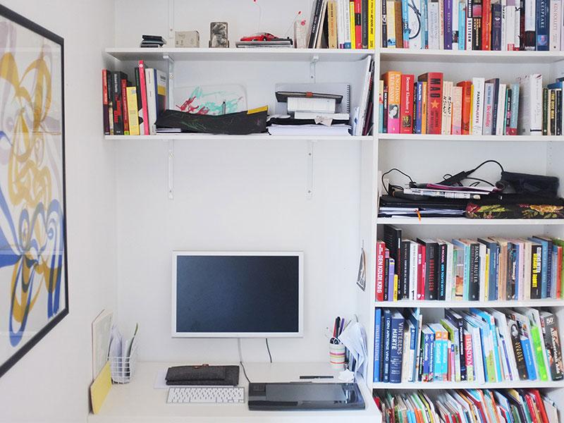 Desk desk workspace rebound