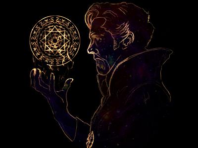 Doctor Strange vingadores avengers illustration doctorstephenstrange comicbook doctorstrange marvel