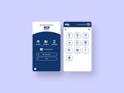BCA Mobile Apps Redesign