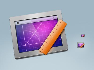 PixelStick (final version) icon pixel stick ruler screen mac app icns angle distance measure