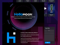 Hellomoon Website
