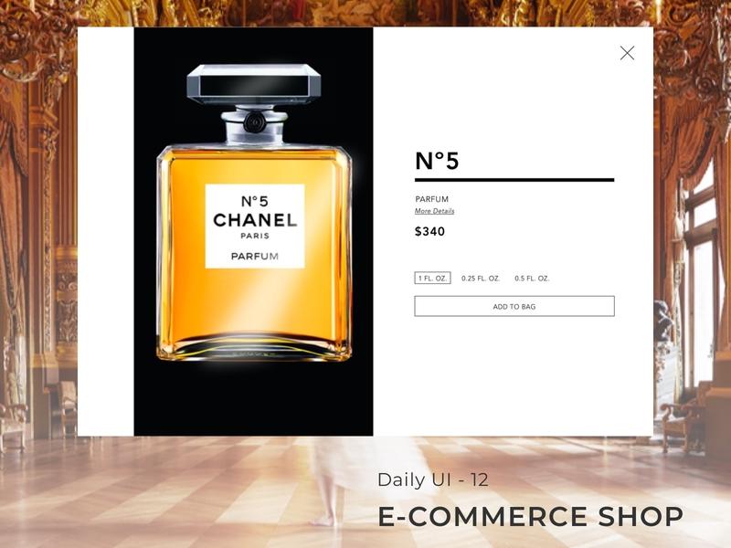 Daily UI: Day 12 - E-Commerce Shop flat minimal ux illustration typography branding ui design 100 days of ui 100 days challenge