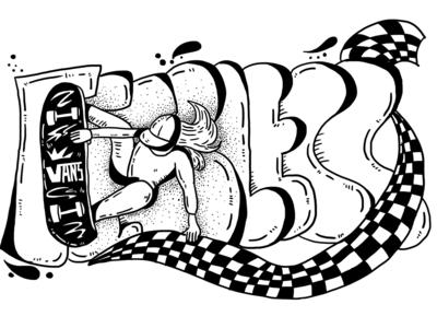 Day10 Vans3 illustration 插图
