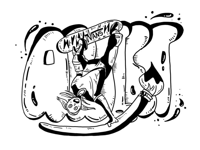 Day12 Vans5 illustration 插图