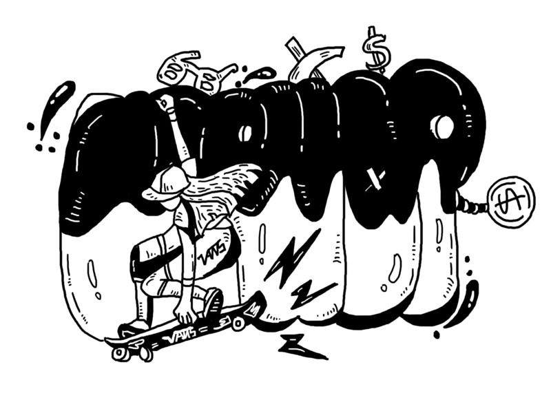 Day13 Vans6 illustration 插图