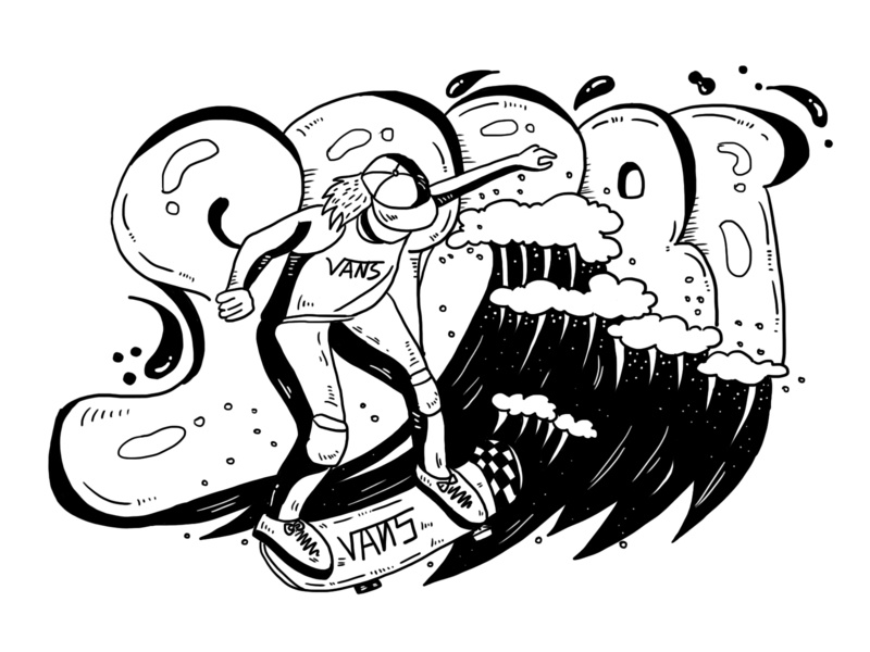 Day14 Vans7 illustration 插图