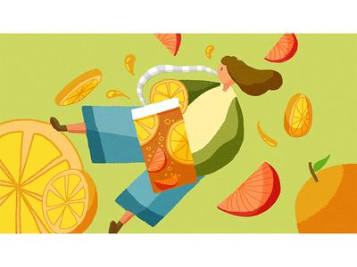 Triple Citrus illustration 插图