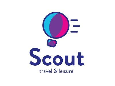 Hot Air Balloon - Daily Logo Challenge Day 2