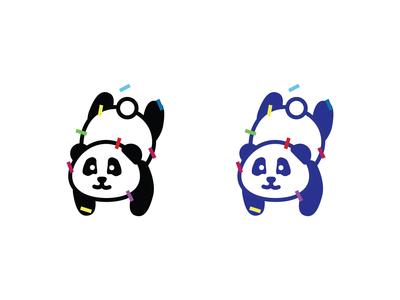 Panda Logo - Daily Logo Challenge Day 3