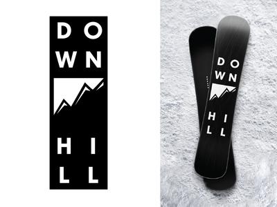 Ski Mountain Logo - Daily Logo Challenge Day 8