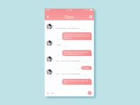 Daily UI #13.Direct Messaging