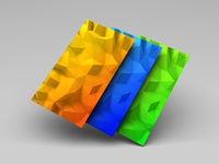 Low-Poly Backgrounds