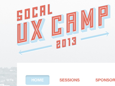 SoCal UX Camp Unconfrence ux socal unconference logo branding grizzly bear