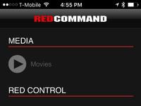 Redcommand menu