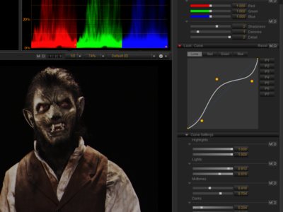 REDCINE-X v. 30.0.0 - 4K Raw R3D Video Editor UI