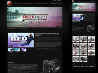 REDIRECT SURF - RED + Surfer Magazine