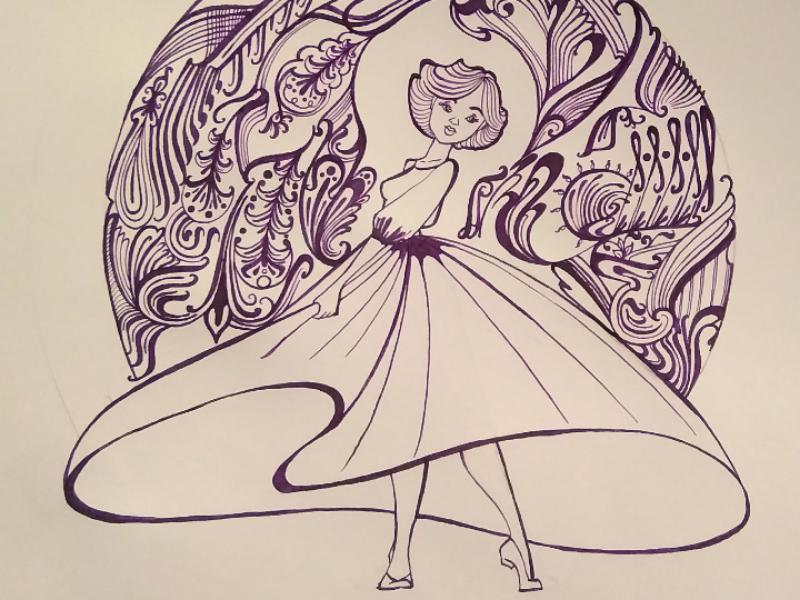 The dress ink dress pattern