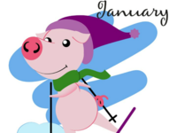 Piggy for every month in 2019 January