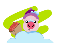 Piggy for every month in 2019 March