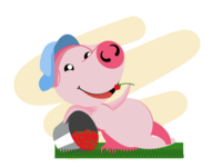 Piggy for every month in 2019 June