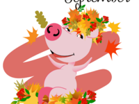 Piggy for every month in 2019 September