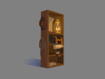cupboard of Indiana Jones