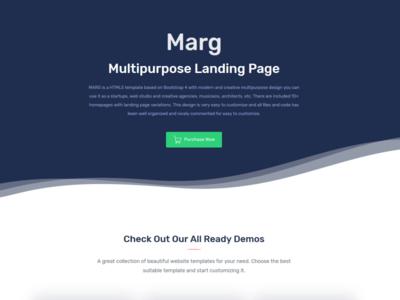 Marg – Multipurpose Landing Page Templates