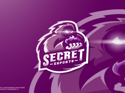 Secret Esports - Singapore Gaming Mascot Logo Design