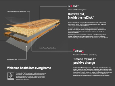 Lucida laminate parkett wood infographic photography layout interior home flooring illustration brochure