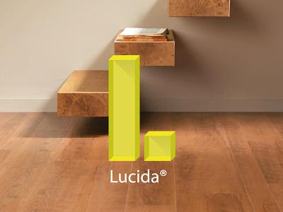 Lucida logo translucent light architecture interior home technology laminate wood parquet flooring floor
