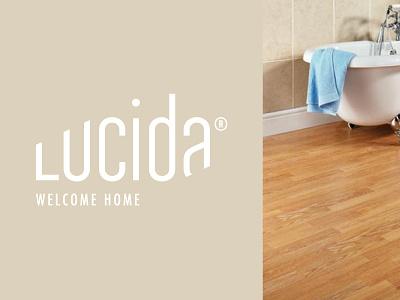 Lucida bath branding interior home laminate parquet wooden floor flooring wood logo