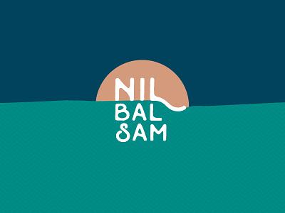 Nil Balsam shea-butter branding cream adventure travel river nile sunset sun vintage label logo