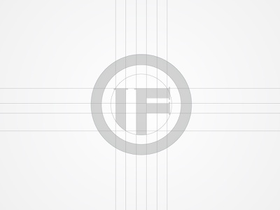 INTERNATIONAL FINTECH grid symbol hi-tech startup online payment online banking financial fintech typography icon branding logo