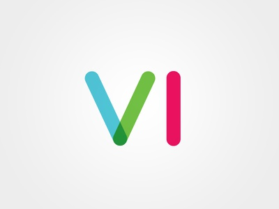 VISIBLE IDENTITIES letters multiply vi clean branding visual identity identity minimal typography icon logo