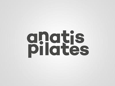 ANATIS PILATES startup stationery graphic design identity visual identity logotype typography movement logo corporate identity corporate design branding fitness wellness yoga sport pilates