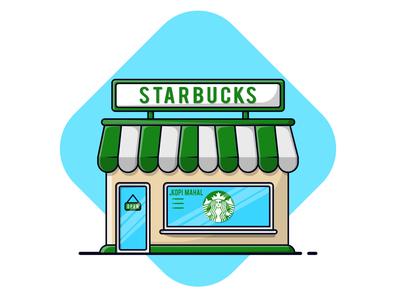 Starbuck Coffe Shop