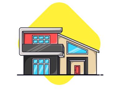 Property Building Minimalist House