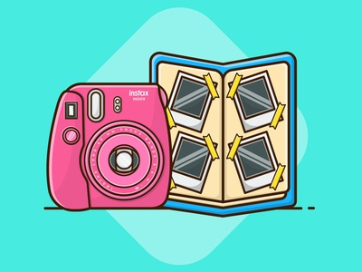 Fujifilm Instax Mini 9 and Photo Album